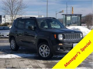 Used 2018 Jeep Renegade North* LOW KM Demo for sale in Mississauga, ON