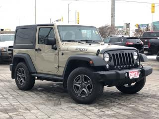 Used 2017 Jeep Wrangler Willys for sale in Mississauga, ON