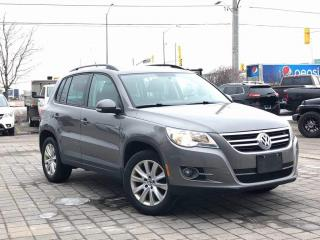 Used 2010 Volkswagen Tiguan COMFORTLINE for sale in Mississauga, ON