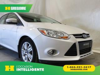 Used 2012 Ford Focus SEL for sale in St-Léonard, QC