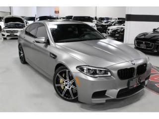 Used 2015 BMW M5 30 JAHRE EDITION   CARBON CERAMIC BRAKES   600 HP for sale in Vaughan, ON