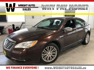 Used 2013 Chrysler 200 Limited|SUNROOF|LEATHER|106,574 KMS for sale in Cambridge, ON