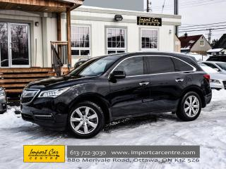 Used 2014 Acura MDX Elite Pkg COOLED SEATS DVD MILANO LEATHER WOW!! for sale in Ottawa, ON