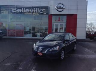 Used 2014 Nissan Sentra S automatic 1 owner local trade for sale in Belleville, ON