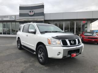 Used 2004 Nissan Pathfinder Armada LE 4WD LEATHER SUNROOF REAR DVD 7-PASSANGER for sale in Langley, BC