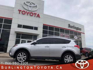 Used 2015 Toyota RAV4 LIMITED  for sale in Burlington, ON