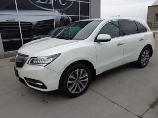Used 2015 Acura MDX Navigation Package. AWD.7 PASSENGERS for sale in Etobicoke, ON