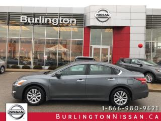 Used 2014 Nissan Altima 2.5 S, ACCIDENT FREE, EXTENDED WARRANTY ! for sale in Burlington, ON