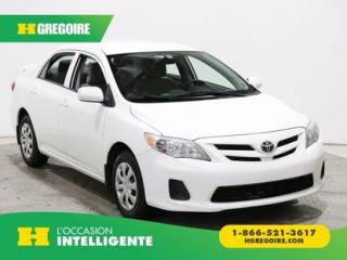 Used 2013 Toyota Corolla LE A/C GR ELECT for sale in St-Léonard, QC