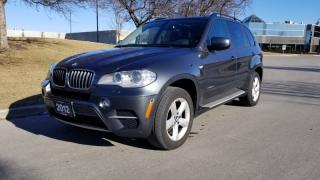 Used 2012 BMW X5 AWD 4dr 35i | 2 Owner | Accident Free | PanoRoof | Nav | PDC for sale in Vaughan, ON