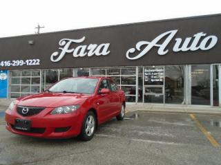 Used 2005 Mazda MAZDA3 Automatic for sale in Scarborough, ON