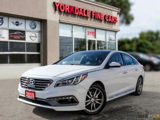 Used 2015 Hyundai Sonata 2.0T, Limited, Panoramic, Navigation, Original for sale in Toronto, ON