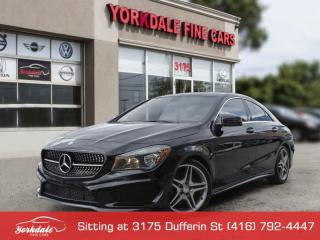 Used 2015 Mercedes-Benz CLA-Class CLA250 4MATIC, Panoramic, Navigation, Camera, Original for sale in Toronto, ON