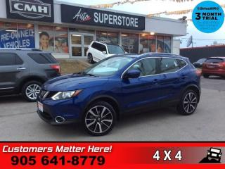 Used 2018 Nissan Qashqai AWD SL CVT  AWD NAV LEATH ROOF BOSE 360-CAM HS for sale in St. Catharines, ON