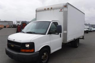 Used 2009 Chevrolet Express 3500 Dually 14 Foot Cube Van with Ramp for sale in Burnaby, BC