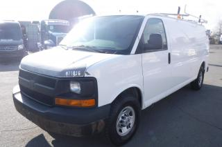 Used 2007 Chevrolet Express G3500 Extended Cargo with Ladder Rack Rear Shelving and Generator for sale in Burnaby, BC