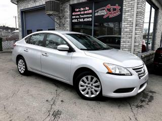 Used 2013 Nissan Sentra Berline 4 portes CVT S for sale in Longueuil, QC