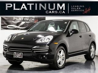 Used 2014 Porsche Cayenne AWD, NAVI, PANO, BLINDSPOT, Heated Lthr for sale in Toronto, ON