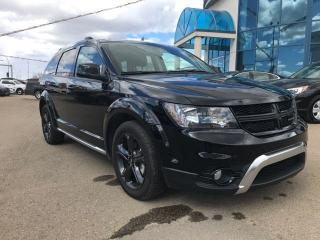 Used 2018 Dodge Journey Crossroad DVD 7 Passenger Navigation for sale in Edmonton, AB