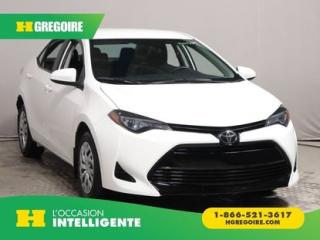 Used 2017 Toyota Corolla Le A/c Bluetooth for sale in St-Léonard, QC