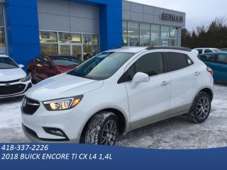 Used 2018 Buick Encore Sport Touring AWD for sale in St-Raymond, QC