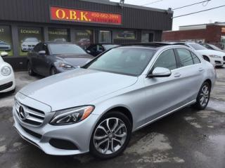 Used 2015 Mercedes-Benz C-Class C300 AWD-NAVIGATION for sale in Laval, QC