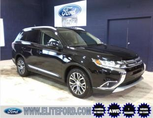 Used 2016 Mitsubishi Outlander GT, CUIR, TOIT, V6, AWD for sale in St-Jérôme, QC
