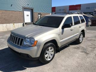 Used 2008 Jeep Grand Cherokee DIESEL for sale in St-Eustache, QC