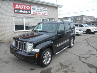 Used 2010 Jeep Liberty 4X4 Limited for sale in St-Hubert, QC