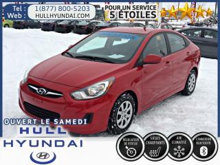 Used 2014 Hyundai Accent Gl, Sièges Chauff for sale in Gatineau, QC