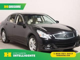 Used 2012 Infiniti G25 AWD for sale in St-Léonard, QC