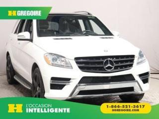 Used 2014 Mercedes-Benz ML 350 ML BLUETEC AWD DVD for sale in St-Léonard, QC