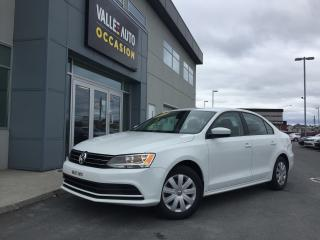 Used 2017 Volkswagen Jetta 1.4 Tsi Tl+ Caméra for sale in St-Georges, QC