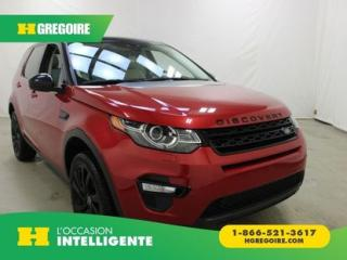 Used 2016 Land Rover Discovery Sport HSE LUXURY AWD CUIR for sale in St-Léonard, QC