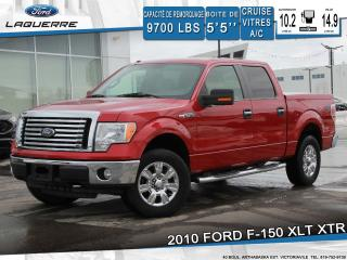 Used 2010 Ford F-150 XLT XTR 4X4 A/C for sale in Victoriaville, QC