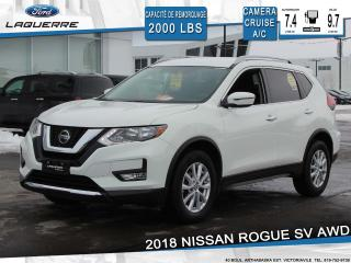 Used 2018 Nissan Rogue SV AWD CAMÉRA for sale in Victoriaville, QC