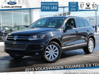 Used 2013 Volkswagen Touareg 3.0 TDI Highline for sale in Victoriaville, QC