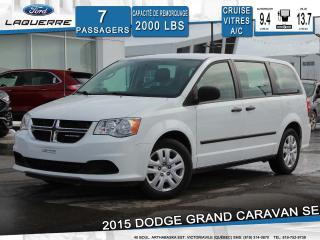 Used 2015 Dodge Grand Caravan SE 7 PLACES for sale in Victoriaville, QC