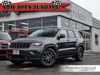 Used 2018 Jeep Grand Cherokee Trailhawk 4x4 l NAV l SUNROOF l for sale in Burlington, ON