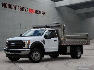 Used 2017 Ford F-550 Chassis CAB 6.7L*Aluminum Hydraulic Dump BOX*AS NEW* COM for sale in Mississauga, ON