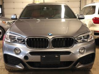 Used 2017 BMW X6 xDrive35i, M PACK, RED INTERIOR, HUD, NAVI for sale in Mississauga, ON