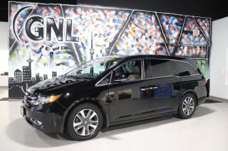Used 2016 Honda Odyssey Touring- 8 passenger-Leather - Navi- Sunroof for sale in Concord, ON
