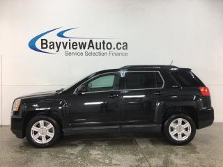 Used 2016 GMC Terrain SLE-2 - ONSTAR! REVERSE CAM! HEATED SEATS! PIONEER SOUND! + MORE! for sale in Belleville, ON