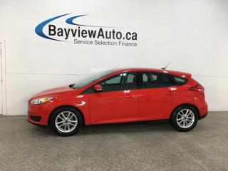 Used 2016 Ford Focus SE - AUTO! A/C! PWR GROUP! ALLOYS! for sale in Belleville, ON