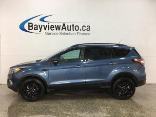 Used 2018 Ford Escape Titanium - AWD! HTD LTHR TRIM! PANOROOF! NAV! BLK WHEELS! for sale in Belleville, ON