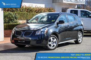 Used 2010 Pontiac Vibe AM/FM Radio, CD player, A/C for sale in Coquitlam, BC