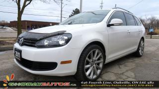Used 2011 Volkswagen Golf Wagon Comfortline|NO ACCIDENT|SUNROOF|ALLOYS|CERTIFIED for sale in Oakville, ON