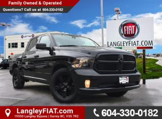 Used 2016 RAM 1500 ST Back-Up Camera and Bluetooth! No Accidents, B.C. Owned! for sale in Surrey, BC