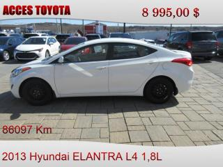 Used 2013 Hyundai Elantra for sale in Rouyn-Noranda, QC