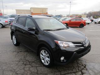 Used 2015 Toyota RAV4 Limited~LEATHER~NAV.~BSM~LDA~LOADED!!! for sale in Toronto, ON